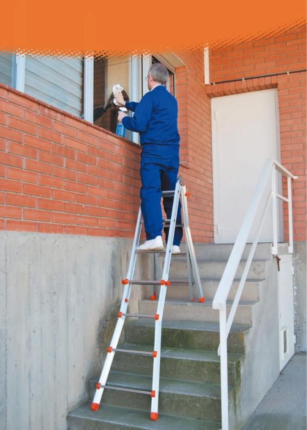 Nueva escalera teles 4 4 de proline blog de noticias de for Escalera de electricista